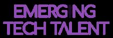 Emerging Tech Talent Logo